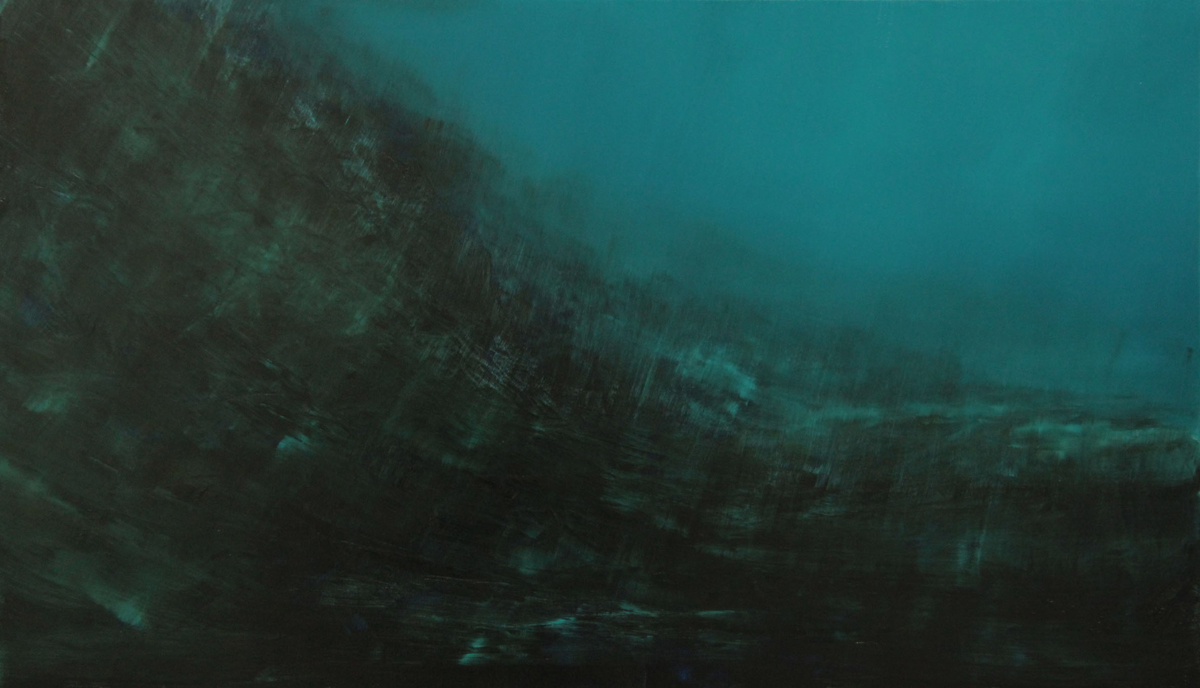 45.Song of the seas.70x120cm. Oil on canvas