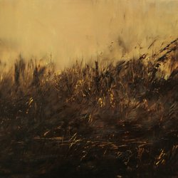 29.Sound of fire.100x200cm. Oil on canvas