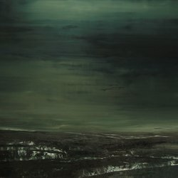 8.When the night came.140x200cm