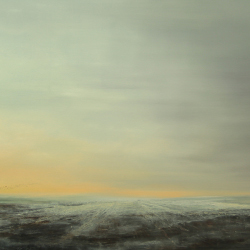 1.The waiting seems eternity.Oil on canvas 100x200cm