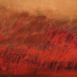 10.Fields of memory.Oil on canvas.%2070x120cm